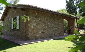 Villa toskana Meer